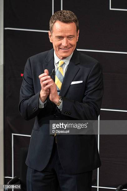 Bryan Cranston attends TimesTalk Presents An Evening With 'Breaking Bad' at TheTimesCenter on July 30 2013 in New York City