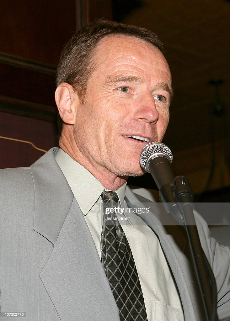Bryan Cranston during 58th Annual Primetime Emmy Award Nominees for Outstanding Writing Reception at French 75 Bistro in Century City, California, United States.