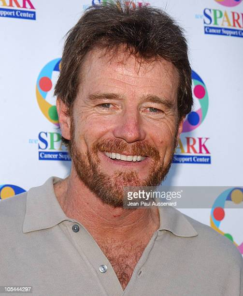 Bryan Cranston during 'WeSparkle Night Take III' to Benefit weSpark Cancer Support Center at Gindi Theater in Los Angeles California United States