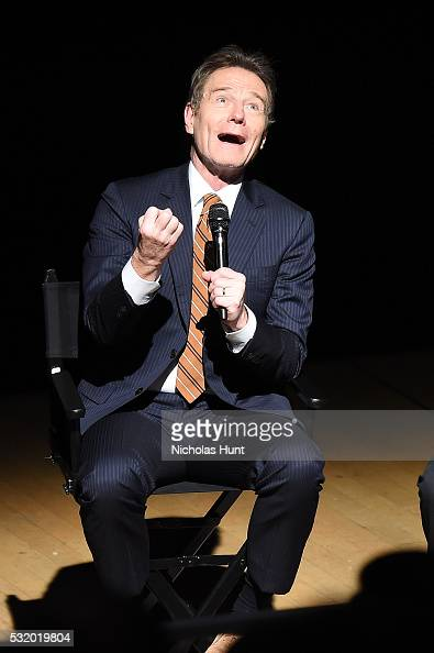 Bryan Cranston participates in a panel discussion after the NYC special screening of HBO Films' 'All The Way' at Jazz at Lincoln Center on May 17...