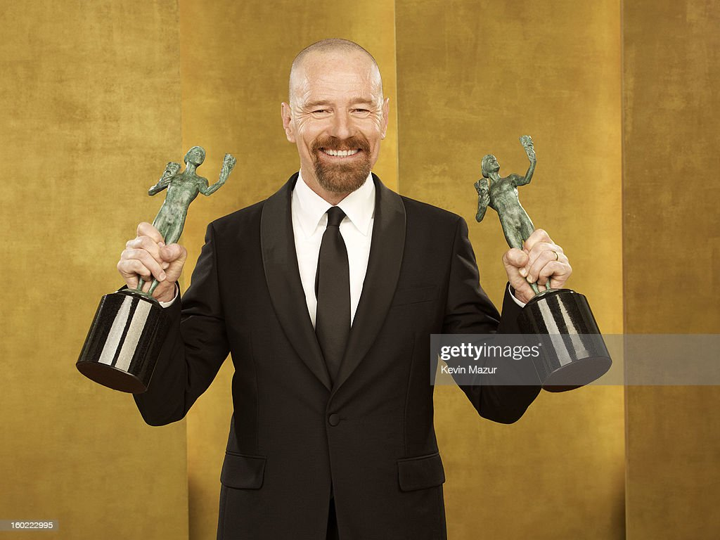 Bryan Cranston poses during the 19th Annual Screen Actors Guild Awards at The Shrine Auditorium on January 27, 2013 in Los Angeles, California. (Photo by Kevin Mazur/WireImage) 23116_027_0286_R.jpg
