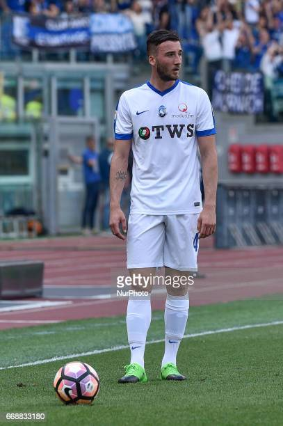 Bryan Cristante of Atalanta during the italian Serie A match between Roma and Atalanta at the Olympic Stadium Rome Italy on 15 April 2017