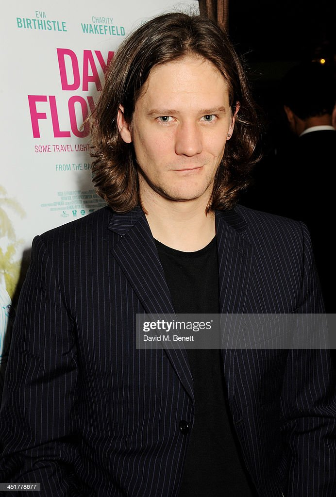 Bryan Dick attends an after party celebrating the UK Premiere of 'Day Of The Flowers' at The Mayfair Hotel on November 24, 2013 in London, England.