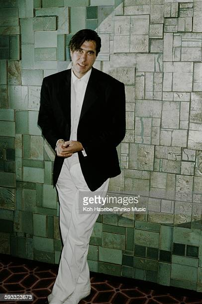 Bryan Ferry at a hotel lobby Tokyo February 1983