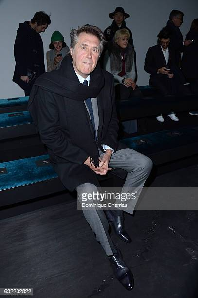 Bryan Ferry attends the Berluti Menswear Fall/Winter 20172018 show as part of Paris Fashion Week on January 20 2017 in Paris France