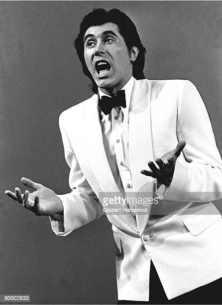 Bryan Ferry from Roxy Music perfoms live at Hilversum TV Studios in Hilversum Holland in May 1973