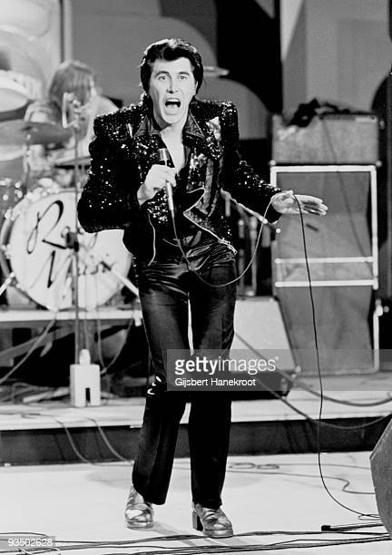 Bryan Ferry from Roxy Music performs live at the Montreux Festival Switzerland in May 1973