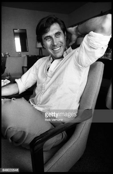 Bryan Ferry of Roxy Music portrait Hilton Hotel Rotterdam Netherlands 7th June 1980