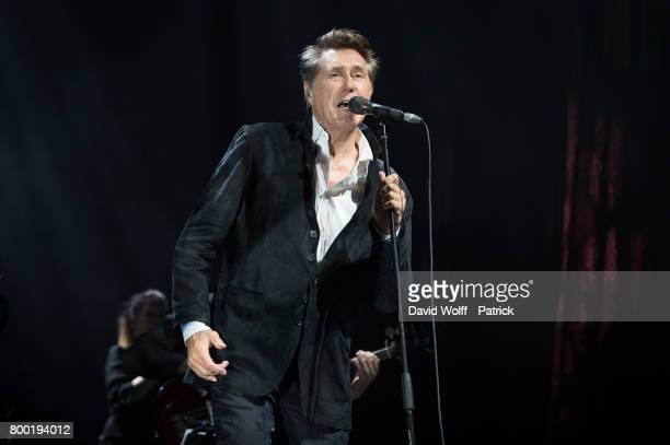 Bryan Ferry performs at L'Olympia on June 23 2017 in Paris France