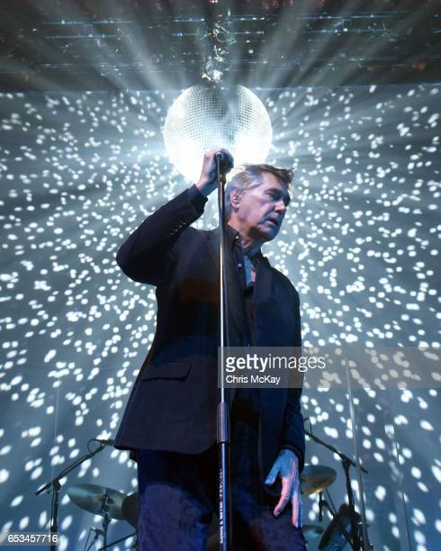 Bryan Ferry performs at The Tabernacle on March 14 2017 in Atlanta Georgia