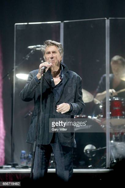 Bryan Ferry performs in concert at ACL Live on March 22 2017 in Austin Texas