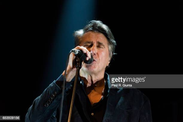 Bryan Ferry performs on stage at The Tabernacle on March 14 2017 in Atlanta Georgia
