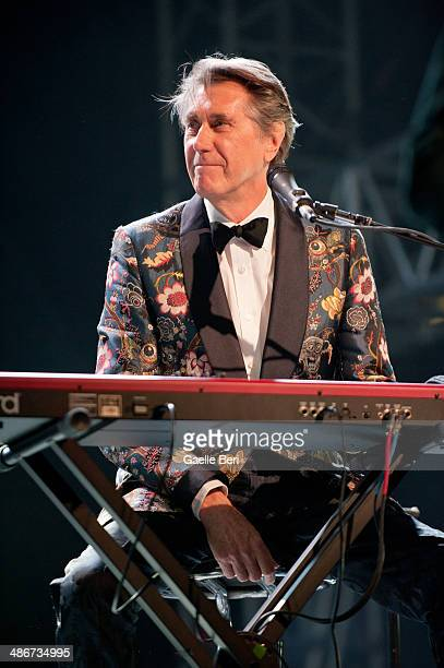 Bryan Ferry performs on stage during Coachella Music Festival on April 11 2014 in Coachella United States