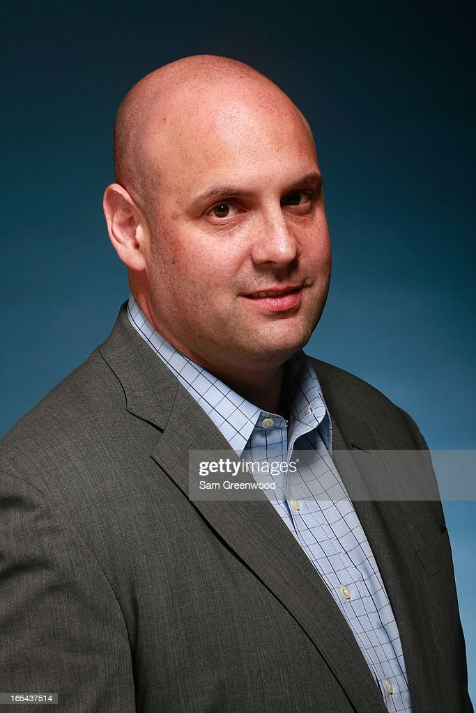 Bryan Furey, Regional VP of Front Row Marketing Services poses at the World Congress Of Sports Executive Portrait Studio on April 3, 2013 in Naples, Florida.