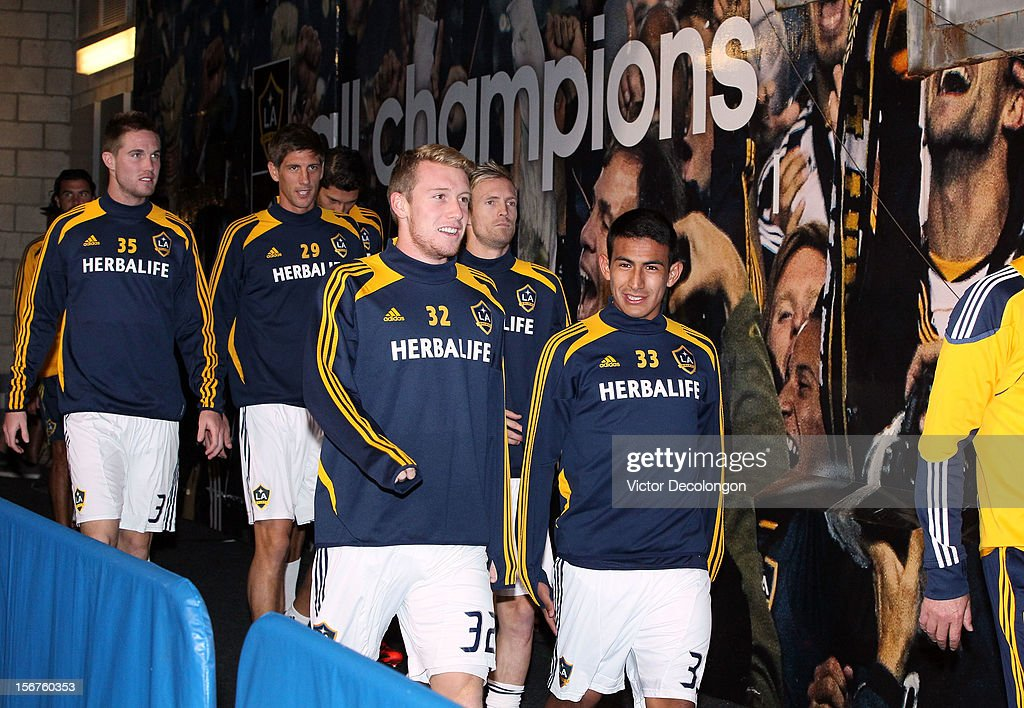 Seattle Sounders v Los Angeles Galaxy - Western Conference Championship - Leg 1