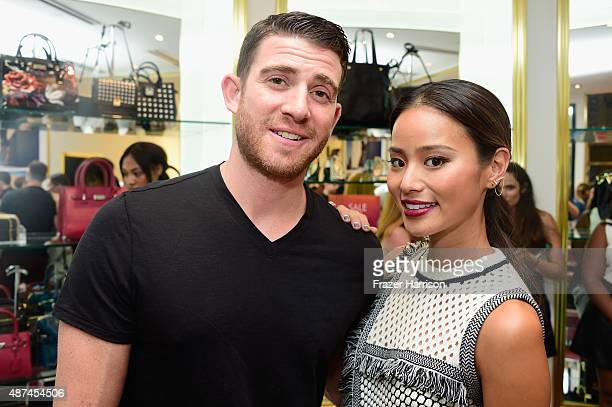 Bryan Greenberg and Jamie Chung attend Nine West InStyle Fall event hosted by Jamie Chung on September 9 2015 in New York City