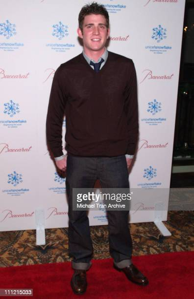 Bryan Greenberg during Baccarat Presents the Lighting of the UNICEF Crystal Snowflake and Chandelier Display on Rodeo Drive Followed by the First...