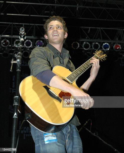 Bryan Greenberg during The WB's 'One Tree Hill' Tour at Roseland Ballroom in New York City at Roseland Ballroom in New York City New York United...