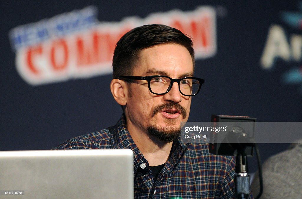 Bryan Konietzko attends the Korra panel at the 2013 New York Comic Con at Javits Ceter on October 12, 2013 in New York City.