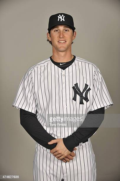 Bryan Mitchell of the New York Yankees poses during Photo Day on Saturday February 22 2014 at George M Steinbrenner Field in Tampa Florida
