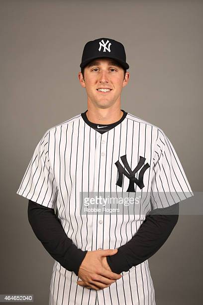 Bryan Mitchell of the New York Yankees poses during Photo Day on Friday February 27 2015 at George M Steinbrenner Field in Tampa Florida