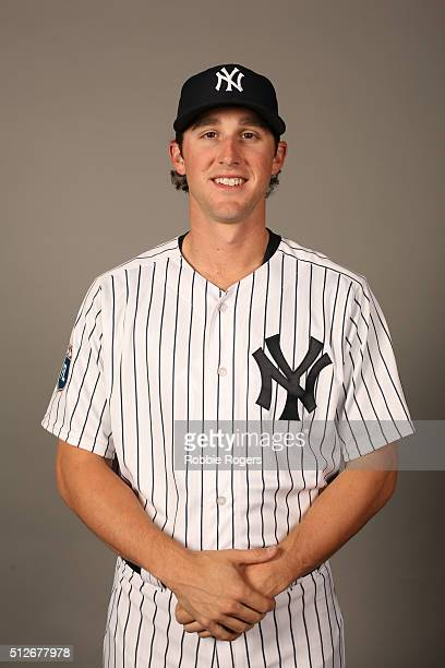 Bryan Mitchell of the New York Yankees poses during Photo Day on Saturday February 27 2016 at George M Steinbrenner Field in Tampa Florida