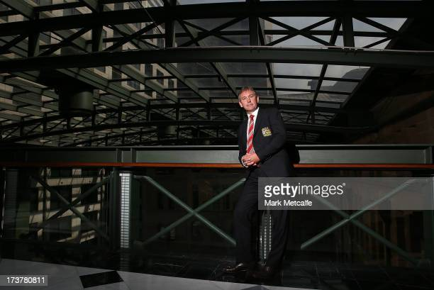 Bryan Robson poses during the official Manchester United official lunch at Westin Hotel on July 18 2013 in Sydney Australia