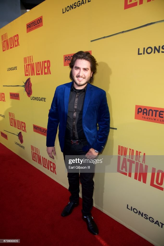 Premiere of pantelion films bryan rojo attends the premiere of pantelion films how to be a latin lover ccuart Image collections