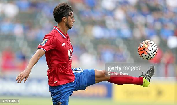 Bryan Ruiz of Costa Rica controls the ball against Jamaica in their CONCACAF Gold Cup Group B match at StubHub Center on July 8 2015 in Los Angeles...