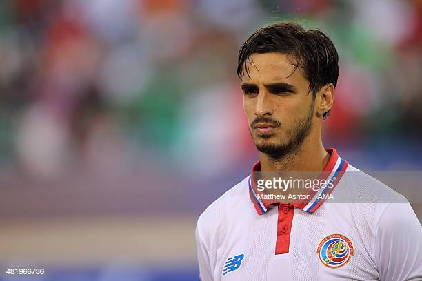 Bryan Ruiz of Costa Rica during the Gold Cup Quarter Final between Mexico and Costa Rica at MetLife Stadium on July 19 2015 in East Rutherford New...