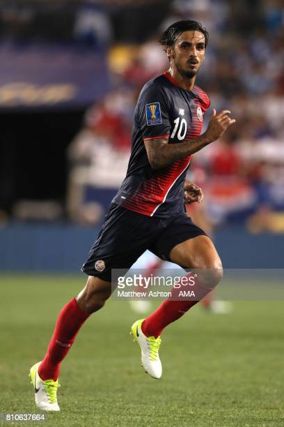 Bryan Ruiz of Costa Rica in action during the 2017 CONCACAF Gold Cup Group A match between Honduras and Costa Rica at Red Bull Arena on July 7 2017...