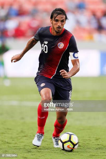 Bryan Ruiz of Costa Rica in action during the 2017 CONCACAF Gold Cup Group A match between Costa Rica and Canada at BBVA Compass Stadium on July 11...