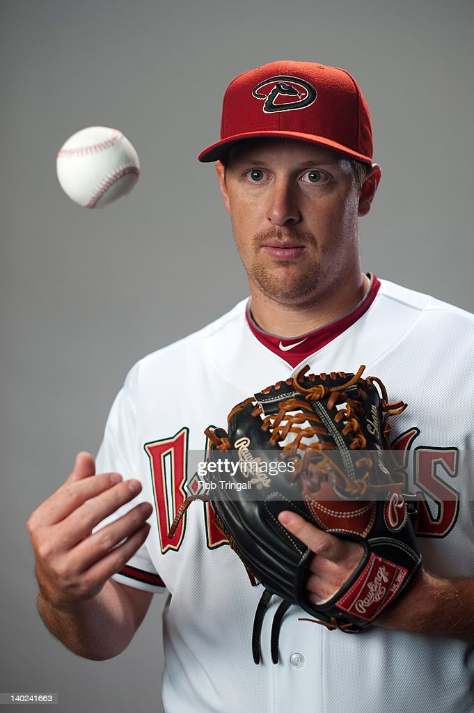 Bryan Shaw #39 of the Arizona Diamondbacks poses during photo day at Salt River Fields at Talking Stick on March 1, 2012 in Scottsdale, Arizona.