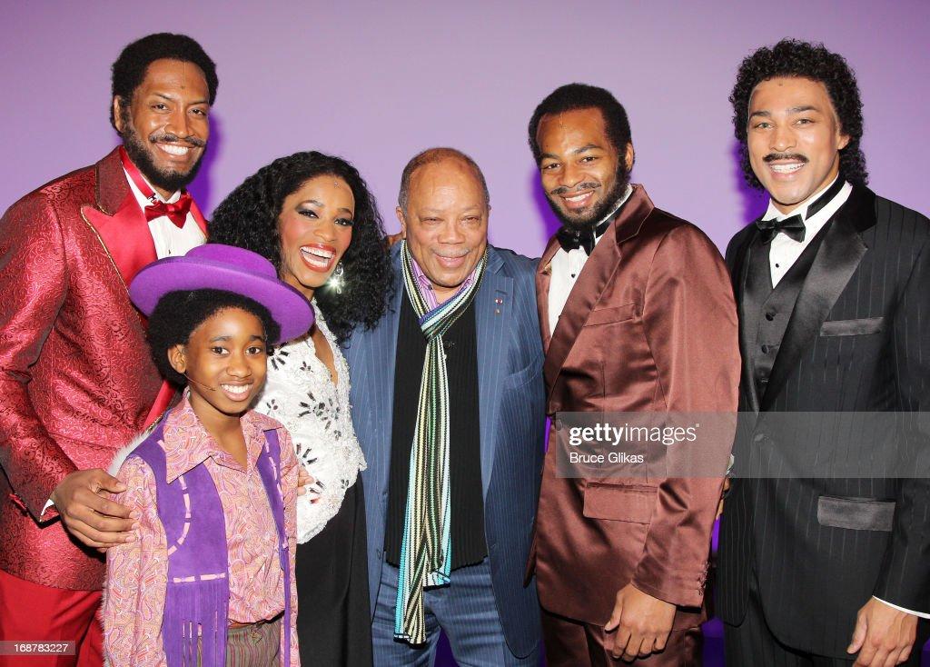 Celebrities Visit Broadway - May 14, 2013