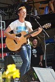 Bryan White performs on Day 2 of Country Thunder Wisconsin on July 22 2016 in Twin Lakes Wisconsin