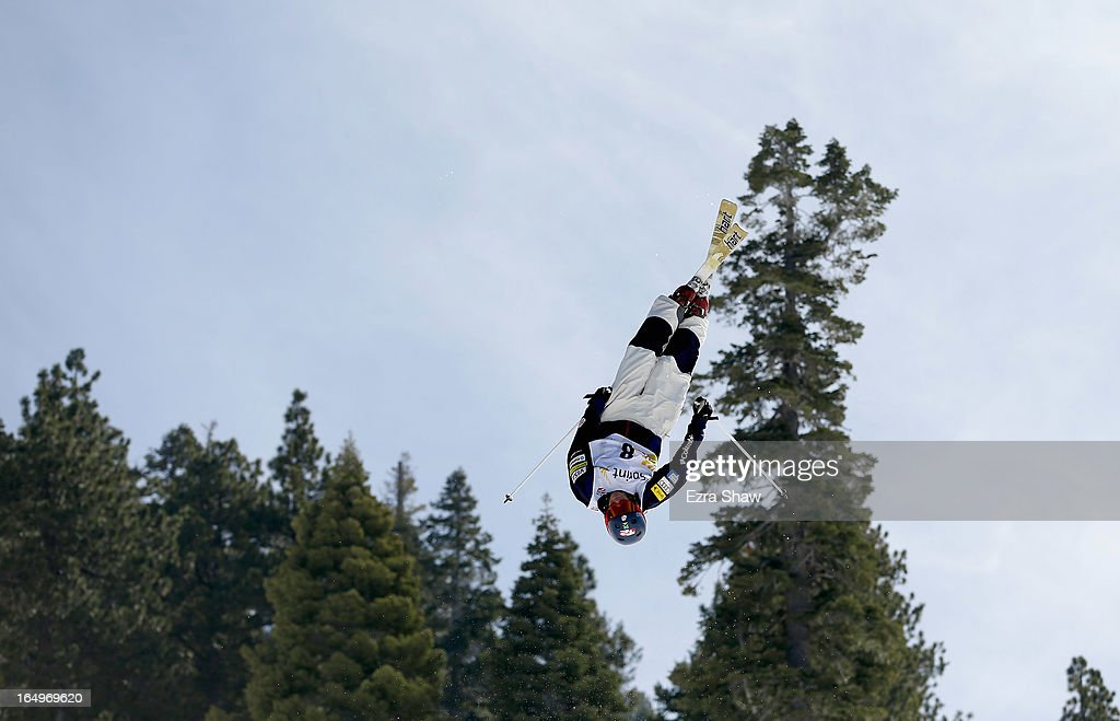 Bryan Zemba competes in the Men's Moguls at the U.S. Freestyle Moguls National Championship at Heavenly Resort on March 29, 2013 in South Lake Tahoe, California.
