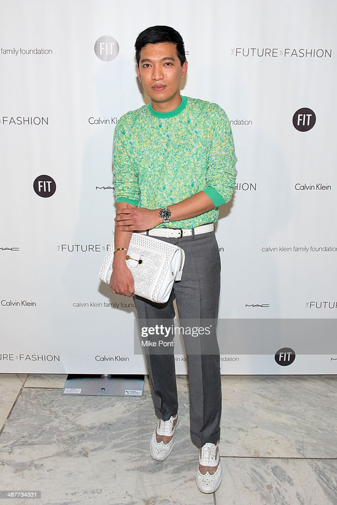 BryanBoy attends FIT's The Future Of Fashion Runway Show at The Fashion Institute of Technology on May 1, 2014 in New York City.