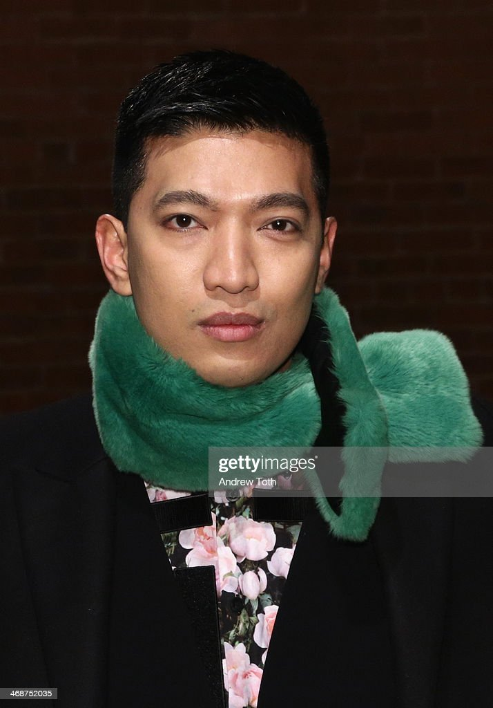 Bryanboy attends the Wes Gordon fashion show during Mercedes-Benz Fashion Week Fall 2014 on February 11, 2014 in New York City.