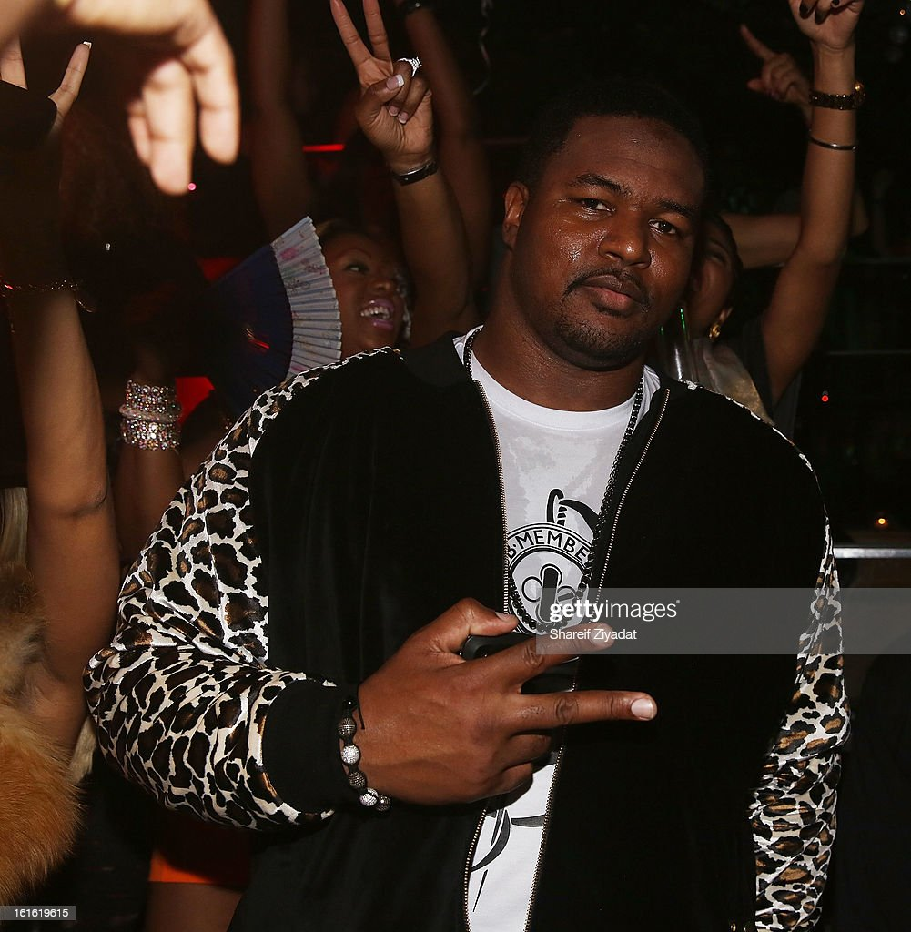 <a gi-track='captionPersonalityLinkClicked' href=/galleries/search?phrase=Bryant+McKinnie&family=editorial&specificpeople=2648683 ng-click='$event.stopPropagation()'>Bryant McKinnie</a> attends the official victory party of the Baltimore Ravens at Greenhouse on February 13, 2013 in New York City.