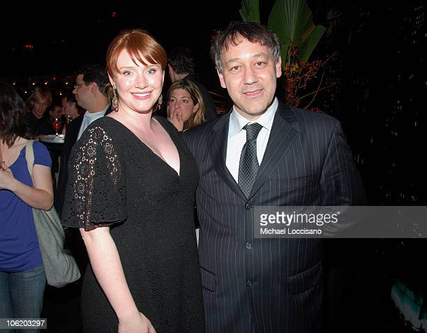 Bryce Dallas Howard and Sam Raimi Director during 'SpiderMan 3' US Premiere After Party at Kaufman Astoria Studios in Queens New York United States
