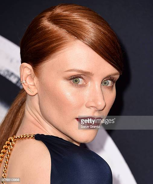 Bryce Dallas Howard arrives at the 'Jurassic World' World Premiere at Dolby Theatre on June 9 2015 in Hollywood California
