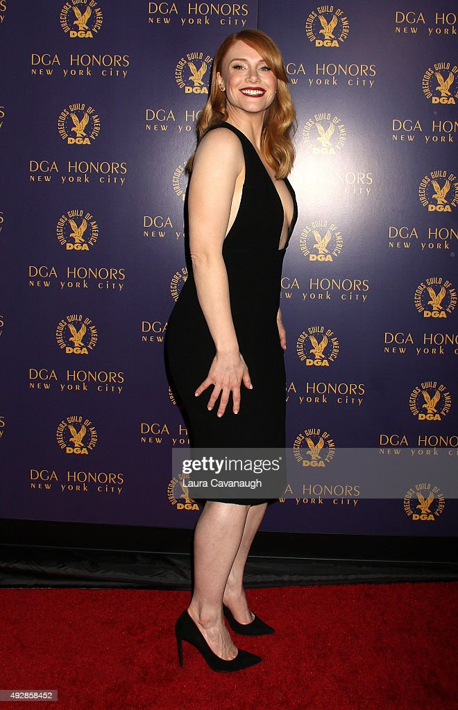 Bryce Dallas Howard attends the DGA Honors Gala 2015 on October 15, 2015 in New York City.