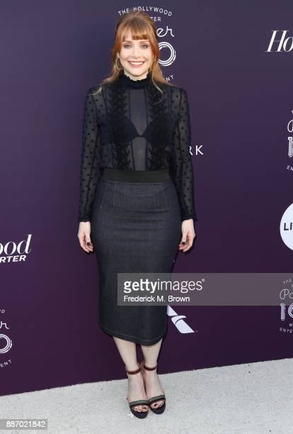 Bryce Dallas Howard attends The Hollywood Reporter's 2017 Women In Entertainment Breakfast at Milk Studios on December 6 2017 in Los Angeles...