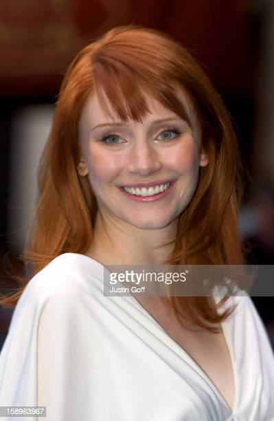 Bryce Dallas Howard Attends The 'Lady In The Water' Uk Film Premiere In London