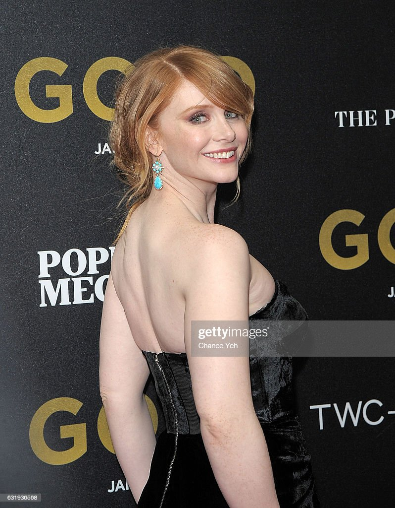 Bryce Dallas Howard attends the world premiere of 'Gold' hosted by TWC-Dimension at AMC Loews Lincoln Square 13 theater on January 17, 2017 in New York City.