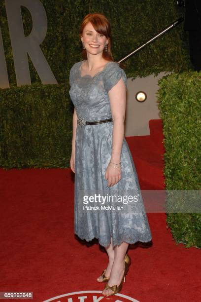 Bryce Dallas Howard attends Vanity Fair Oscar Party at Sunset Tower Hotel on February 22 2009 in Los Angeles California