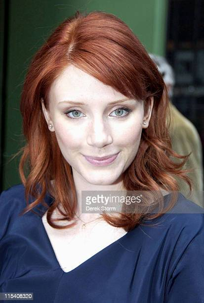 Bryce Dallas Howard during Bryce Dallas Howard Visits 'Good Morning America' July 19 2006 in New York City New York United States