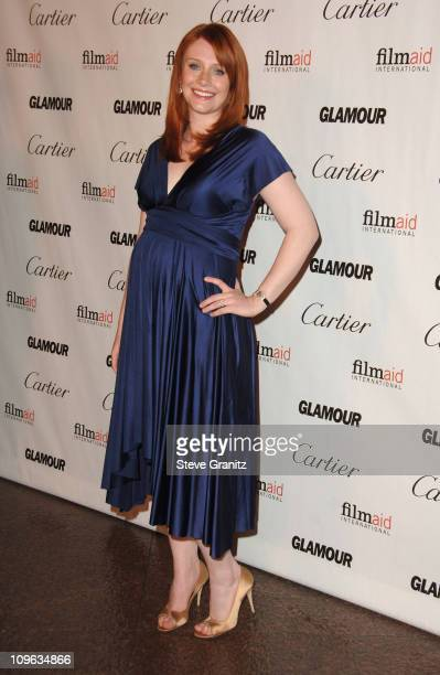 Bryce Dallas Howard during Glamour Reel Moments Short Film Series Presented by Cartier Arrivals at Director's Guild in Los Angeles California United...
