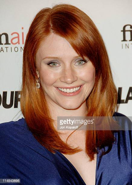 Bryce Dallas Howard during Glamour Reel Moments Short Film Series Presented by Cartier Arrivals at Directors Guild of America in West Hollywood...