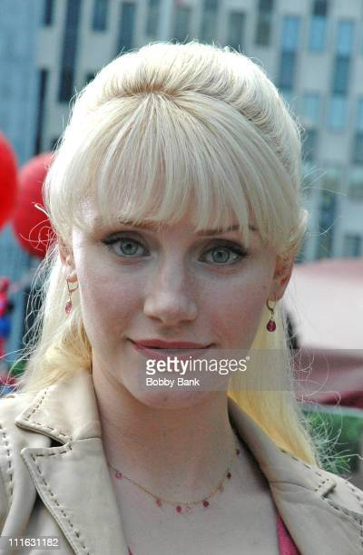 Bryce Dallas Howard during 'SpiderMan 3' On Location in New York City June 12 2006 at Street Location in New York New York United States
